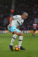 Football - 2016 / 2017 Premier League - Southampton vs. West Ham United<br /> <br /> Sofiane Feghouli of West Ham United in action at St Mary's Stadium Southampton England<br /> <br /> COLORSPORT/SHAUN BOGGUST
