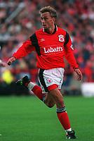 Fotball<br /> Norske spillere i England<br /> Foto: Colorsport/Digitalsport<br /> NORWAY ONLY<br /> <br /> LARS BOHINEN - NOTTINGHAM FOREST. 10/9/94.