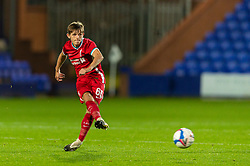 BIRKENHEAD, ENGLAND - Tuesday, September 29, 2020: Liverpool's Leighton Clarkson during the EFL Trophy Northern Group D match between Tranmere Rovers FC and Liverpool FC Under-21's at Prenton Park. Tranmere Rovers won 3-2. (Pic by David Rawcliffe/Propaganda)