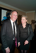 ANTHONY REYNOLDS; JACQUI DAVIES, Dinner hosted by Denise Estfandi, for the Council of the Serpentine Gallery to celebrate the opening of  Nancy Spero at the Serpentine Gallery. London.  Upper Brook house. 10a upper brook st.1 March 2011. -DO NOT ARCHIVE-© Copyright Photograph by Dafydd Jones. 248 Clapham Rd. London SW9 0PZ. Tel 0207 820 0771. www.dafjones.com.