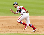 CHICAGO - JUNE 30:  Jon Jay #45 of the Chicago White Sox runs the bases against the Minnesota Twins on June 30, 2019 at Guaranteed Rate Field in Chicago, Illinois.  (Photo by Ron Vesely)  Subject:  Jon Jay
