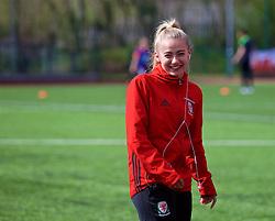 YSTRAD MYNACH, WALES - Wednesday, April 5, 2017: Wales' Charlie Estcourt ahead of the Women's International Friendly match against Northern Ireland at Ystrad Mynach. (Pic by Laura Malkin/Propaganda)