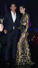 Nicole Trunfio and Nat Fyfe close the Perth Fashion Festival in Perth - 14 Sept 2018