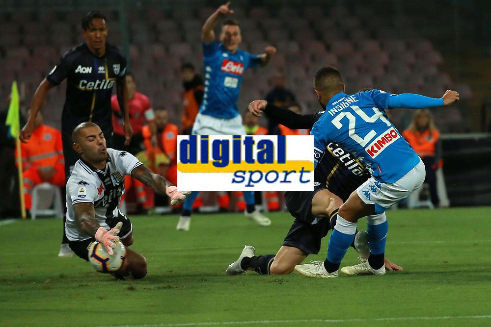 Gol di Lorenzo Insigne Napoli goal celebration<br /> Napoli 24-09-2018  Stadio San Paolo <br /> Football Campionato Serie A 2018/2019 <br /> Napoli - Parma<br /> Foto Cesare Purini / Insidefoto