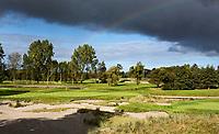 WASSENAAR  (NETH.) - Greens  hole 6 (voorgrond)  en 7. Golfclub Groendael in Wassenaar. COPYRIGHT KOEN SUYK