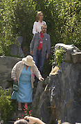 Garden designer Marney Hall withRingo Starr and his wife Barbara Bach in the 4head garden.  Chelsea Flower show, 25 May 2004. ONE TIME USE ONLY - DO NOT ARCHIVE  © Copyright Photograph by Dafydd Jones 66 Stockwell Park Rd. London SW9 0DA Tel 020 7733 0108 www.dafjones.com