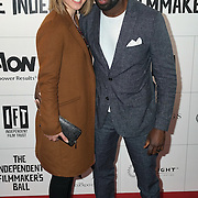 London,England,UK : British Actor David Gysai and guest attend the Raindance Filmmakers Ball by London Flair Pr at Cafe De Paris  in London. Photo by See Li