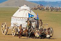 Mongolie. 800e anniversaire de la creation de l'empire mongol. // Mongolia. 800th birthday of mongol empire.