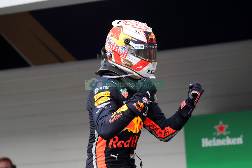 November 17, 2019, Sao Paulo, Brazil: xa9; Photo4 / LaPresse.17/11/2019 Sao Paulo, Brazil.Sport .Grand Prix Formula One Brazil 2019.In the pic: Max Verstappen (NED) Red Bull Racing RB15 (Credit Image: © Photo4/Lapresse via ZUMA Press)