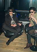 NAT WELLER AND DAVID SHOXX, Beyond the Rave, Celebration of Hammer Film's  first horror movie broadcasr on MYSpace. Shoreditch House. London. 16 April 2008.  *** Local Caption *** -DO NOT ARCHIVE-© Copyright Photograph by Dafydd Jones. 248 Clapham Rd. London SW9 0PZ. Tel 0207 820 0771. www.dafjones.com.