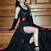 Anqi Zhu is a catwalk model at The British luxury Womenswear designer, Chanel Joan Elkayam, showcases her Autumn - Winter 2020 show ahead of London Fashion Week on 13 February 2020 at Cecil Sharp House, London, UK.