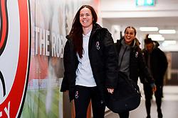 Olivia Chance of Bristol City arrives at Stoke Gifford Stadium prior to kick off - Mandatory by-line: Ryan Hiscott/JMP - 17/02/2020 - FOOTBALL - Stoke Gifford Stadium - Bristol, England - Bristol City Women v Everton Women - Women's FA Cup fifth round