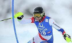 29.12.2014, Hohe Mut, Kühtai, AUT, FIS Ski Weltcup, Kühtai, Slalom, Damen, 1. Durchgang, im Bild Wendy Holdener (SUI) // Wendy Holdener of Switzerland in action during 1st run of Ladies Slalom of the Kuehtai FIS Ski Alpine World Cup at the Hohe Mut Course in Kuehtai, Austria on 2014/12/29. EXPA Pictures © 2014, PhotoCredit: EXPA/ Erich Spiess