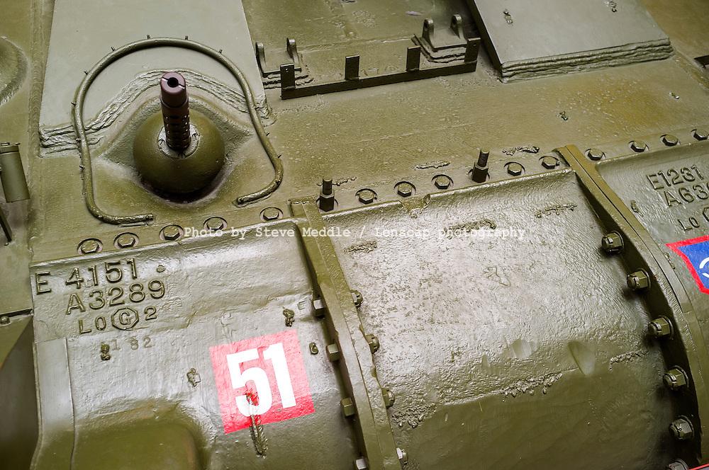M4 Sherman Tank, front view - Aug 2012.