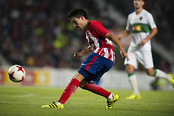 October 25, 2017 - Elche, Alicante, Spain - Nico Gaitan during the match between Elche CF vs. Atletico de Madrid, round of 16 -1st leg of Copa del Rey 2017/18 in Martinez Valero Stadium, Elche. 25th of october 2017. (Credit Image: © Jose Breton/NurPhoto via ZUMA Press)