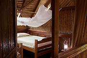 Manu Learning Centre guest room, Manu National Park, Peru, South America