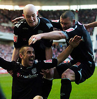 Photo: Jed Wee/Sportsbeat Images.<br /> Middlesbrough v West Bromwich Albion. The FA Cup. 17/02/2007.<br /> <br /> West Brom mob goalscorer Kevin Phillips (seated).