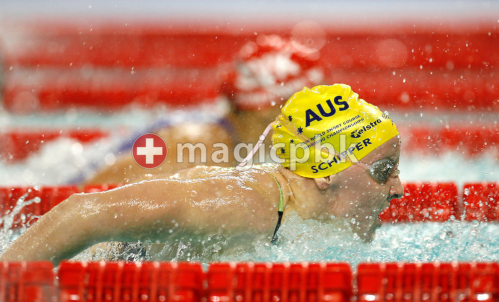 Jessicah SCHIPPER of Australia competes in the women's 100m Butterfly Semifinal during day four of the 8th FINA World Swimming Championships (25m) held at Qi Zhong Stadium April 8, 2006 in Shanghai, China. (Photo by Patrick B. Kraemer / MAGICPBK)