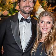 NLD/Amsterdam/20161013 - Televiziergala 2016, Simon Keizer en partner Annemarie Hoek