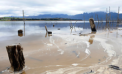Cape Town 180907 Theewaterskloof dam now has almost four times as much water in its system as it did back in March.Cape Town dam levels pass the two-thirds mark standing at 66.7% full Picture Ayanda Ndamane African News Agency ANA