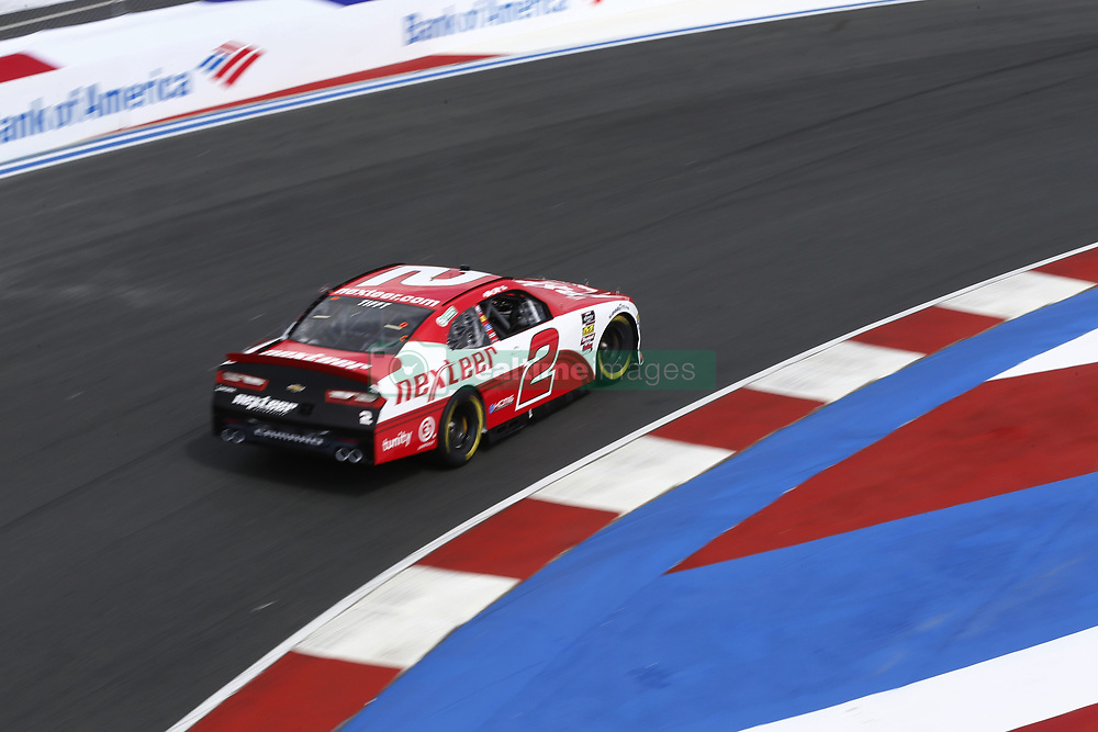 September 27, 2018 - Concord, North Carolina, United States of America - Matt Tifft (2) brings his car through the turns during practice for the Drive for the Cure 200 at Charlotte Motor Speedway in Concord, North Carolina. (Credit Image: © Chris Owens Asp Inc/ASP via ZUMA Wire)