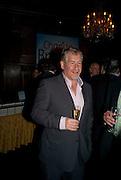 SIMON KELNER, Book launch for Citizen by Charlie Brooks. Tramp. London. 1 April  2009