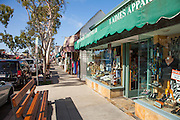 Marine Ave of Balboa Island in Newport Beach California