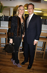 JAMIE ALLSOPP and LADY EMILY COMPTON at the opening party for Tom's Kitchen - the restaurant of Tom Aikens at 27 Cale Street, London SW3 on 1st November 2006.<br />