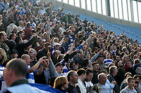 Photo: Mark Stephenson.<br />Coventry City v Queens Park Rangers. Coca Cola Championship. 07/04/2007. QPR fans celEbrate their 1-0 win