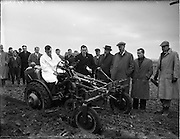 05/01/1956.01/05/1956.05 January 1956.David Brown Tractors Ltd. Demonstration of new 2D Tractor at Blakes Cross in J. Daly's field.