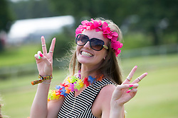 Savannah McEwan. The opening of the T in the Park 2015 campsite for the very first year at its new home at Strathallan Castle.