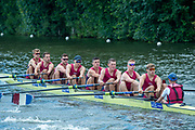 Henley on Thames, England, United Kingdom, 3rd July 2019, Henley Royal Regatta, Heat Of the Temple Challenge Cup, Oxford Brooks University B,  on Henley Reach, [© Peter SPURRIER/Intersport Image]<br /> <br /> 12:15:32, 1919 - 2019, Royal Henley Peace Regatta Centenary,