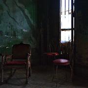 Inside an old house in Havana