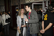 Natalie Casey and  Ralf Little, Opening night of the  Broadway dance show 'Movin' Out' at the Apollo Victoria theatre. London. 10 April  2006. ONE TIME USE ONLY - DO NOT ARCHIVE  © Copyright Photograph by Dafydd Jones 66 Stockwell Park Rd. London SW9 0DA Tel 020 7733 0108 www.dafjones.com