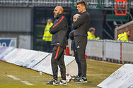 Emilio Peixe Portugal U17s Head Coach during the U17 European Championships match between Portugal and Scotland at Simple Digital Arena, Paisley, Scotland on 20 March 2019.