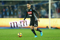 December 1, 2017 - Naples, Italy - Jorginho of Napoli during the Serie A match between SSC Napoli and Juventus at Stadio San Paolo on December 1, 2017 in Naples, Italy. (Credit Image: © Matteo Ciambelli/NurPhoto via ZUMA Press)