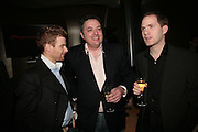TOM AIKENS, RICHARD CORRIGAN AND BRYN WILLIAMS, Berkeley Square Ball launch at Nobu in Berkeley St.  for BSquareB fundraiser represented by Vince Power,  ( Ball takes place September 27. )  27 March 2007. -DO NOT ARCHIVE-© Copyright Photograph by Dafydd Jones. 248 Clapham Rd. London SW9 0PZ. Tel 0207 820 0771. www.dafjones.com.