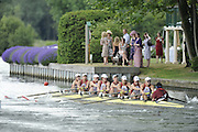 Henley, GREAT BRITAIN,  Crews move away from the start., Temple Island. 2010 Henley Royal Regatta. 12:10:35  Wednesday  30/06/2010.  [Mandatory Credit: Peter Spurrier / Intersport-images] Rowing Courses, Henley Reach, Henley, ENGLAND . HRR.