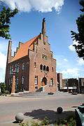 """Historische Driehoek"" in Noord Holland / Historical Triangell in the North of Holland.<br /> <br /> Op de foto/ On the photo: Stadhuis van Medemblik / Cityhall of Medemblik"