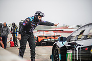 May 5, 2019: IMSA Weathertech Mid Ohio.Paul Miller Racing Lamborghini Huracan GT3 mechanic