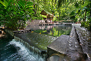 Hot Springs at Eco Termales in Fortuna, near Arenal Volcano in Costa Rica.