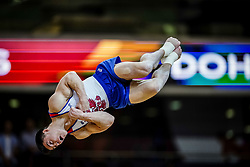 November 2, 2018 - Doha, Qatar - Nikita Nagornyy of Russia   during  Floor for Men at the Aspire Dome in Doha, Qatar, Artistic FIG Gymnastics World Championships on 2 of November 2018. (Credit Image: © Ulrik Pedersen/NurPhoto via ZUMA Press)