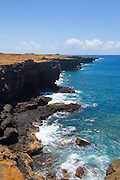 South Point, Big Island of Hawaii, southernmost poit of the United States