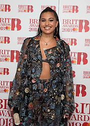 EDITORIAL USE ONLY XXXX Mabel attending the Brit Awards 2018 Nominations event held at ITV Studios on Southbank, London. Photo credit should read: David Jensen/EMPICS Entertainment