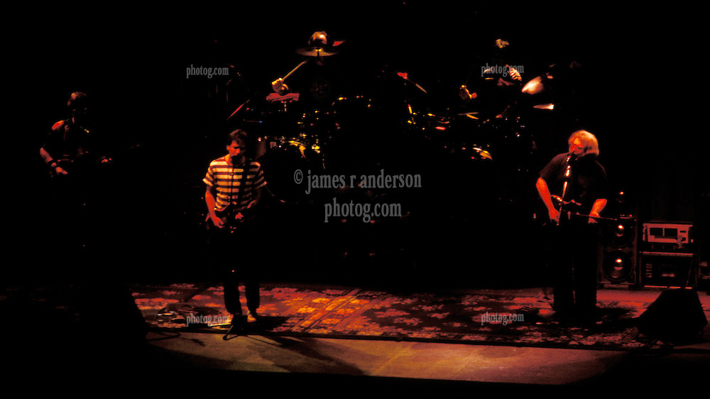 Phil, Bobby, Billy, Micky & Jerry. The Grateful Dead in Concert at the Hartford Civic Center 26 March 1987