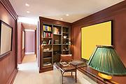 Interior, beautiful modern apartment, elegant studio