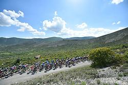 12.05.2018, Montevergine di Mercogliano, ITA, Giro d Italia 2018, 9. Etappe, Pesco Sannita nach Gran Sasso, im Bild Peloton, Feature during the 9th Stage of the 101th Giro d'Italia cycling race from Pesco Sannita to Gran Sasso. Montevergine di Mercogliano, Italy on 2018/05/12. EXPA Pictures © 2018, PhotoCredit: EXPA/ laPresse/ Fabio Ferrari<br /> <br /> *****ATTENTION - for AUT, SUI, CRO, SLO only*****
