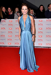 Geri Horner attending the National Television Awards 2018 held at the O2 Arena, London. PRESS ASSOCIATION Photo. Picture date: Tuesday January 23, 2018. See PA story SHOWBIZ NTAs. Photo credit should read: Matt Crossick/PA Wire
