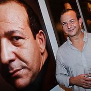 NLD/Amsterdam/20110926 -Onthulling foto's van Nederlandse acteurs in het DelaMar theater, Najib Amhali