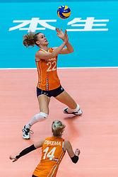 20-10-2018 JPN: Final World Championship Volleyball Women day 18, Yokohama<br /> China - Netherlands 3-0 / Nicole Koolhaas #22 of Netherlands